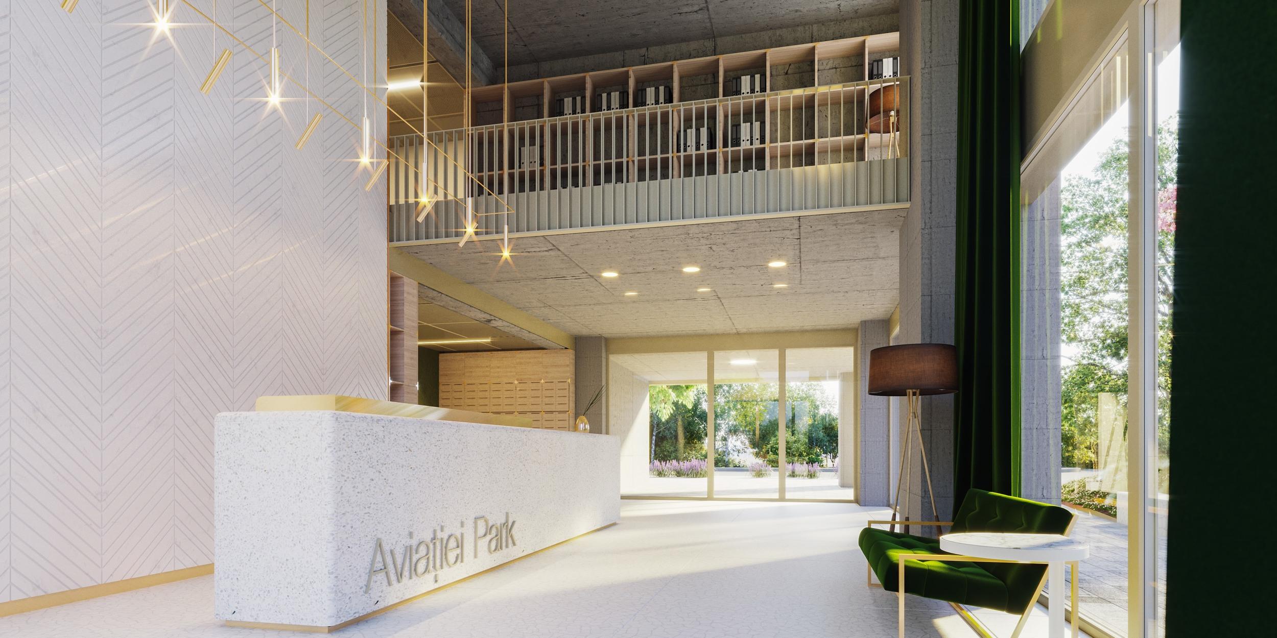Aviatiei Park ansamblu de apartamente verzi in nordul Bucurestiului 2