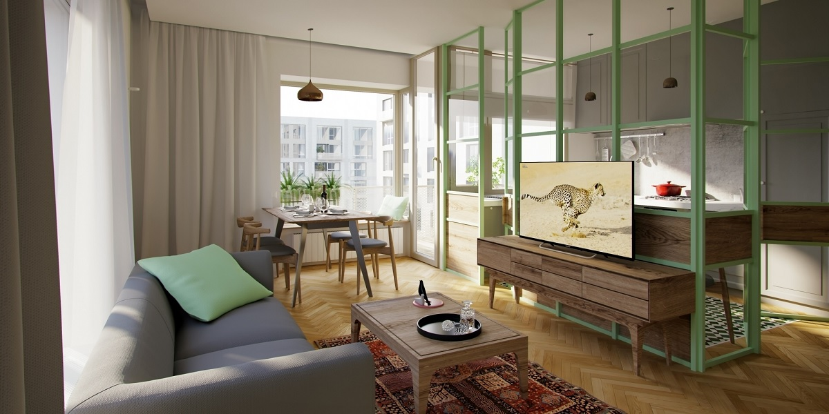 Aviatiei Park ansamblu de apartamente verzi in nordul Bucurestiului