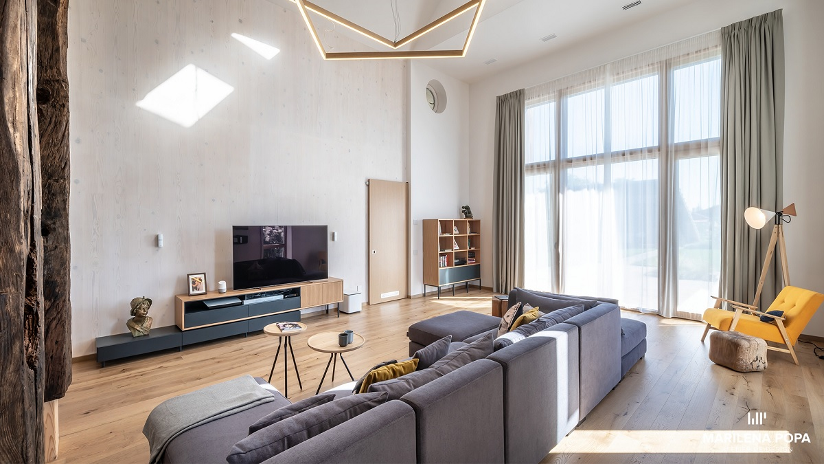 Casa pasiva Buhnici imbinarea tehnologiei moderne cu elemente rustice sasesti