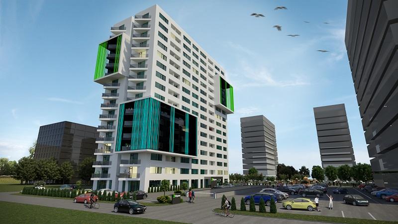 XCity Towers Un dezvoltator autohton grabeste constructia unui ansamblu rezidential de proportii