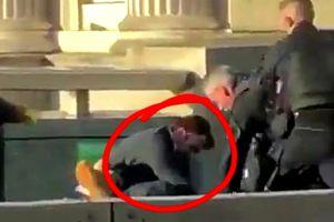 VIDEO Atac terorist la Londra! O româncă a filmat când poliția l-a împușcat mortal pe atacator. Atentie, imagini cu impact emotional