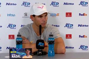 """Nadal, iritat de o întrebare despre căsătorie: """"O întrebare de rahat!"""" Cum a continuat dialogul, jurnalistul așteaptă scuze"""