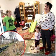«Am muncit 15 ani la casă. Unde vor sta acum copiii mei?». Situație dramatică la Cumpăna, oamenii sunt disperați