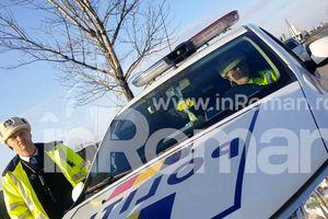 VIDEO Un cetățean din Roman a raportat la Poliție un ... polițist ce pândea cu radarul! A ieșit scandal