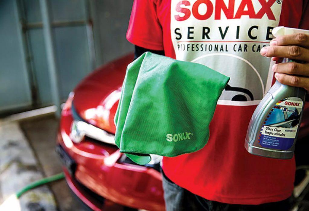 Alege lavetele din microfibra marca Sonax pentru ingrijirea autoturismului